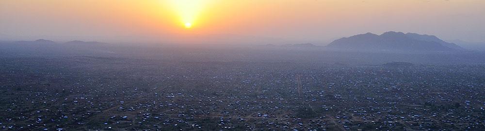 South Sudan sunset