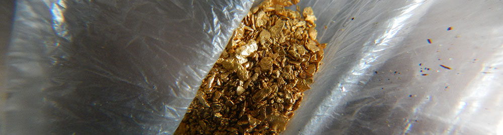 Gold sample